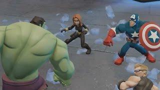 Халк Тор Железный человек Супергерои против монстров мульт игра для детей HULK THOR IRON MAN VS Mons