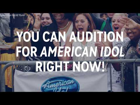 How To Audition For 'American Idol' Right Now