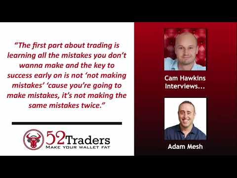 Stock Options Trading Made Easy w/ Adam Mesh - Stock Options Trading Interview | 52 mins
