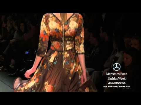 LENA HOSCHEK FULL SHOW - MERCEDES-BENZ FASHION WEEK BERLIN A/W 2013 COLLECTIONS