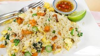 Salted Fish Fried Rice ข้าวผัดคะน้าปลาเค็ม - Hot Thai Kitchen!
