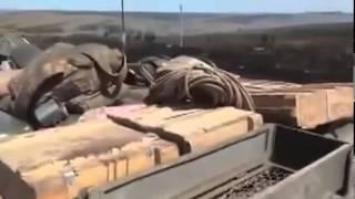 АТО  Видео военных Украины попавших под обстрел ополчения  Донецк  Луганск  ДНР  ЛНР