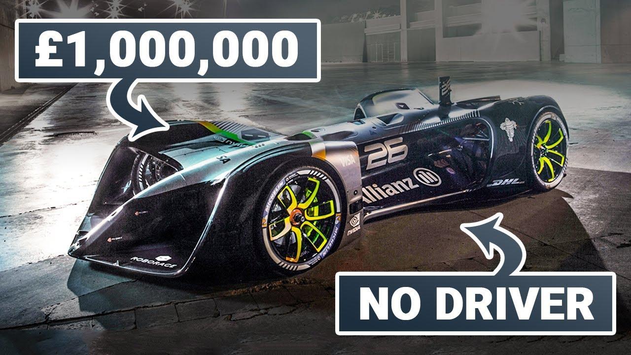The £1,000,000 Autonomous Racing Car - YouTube