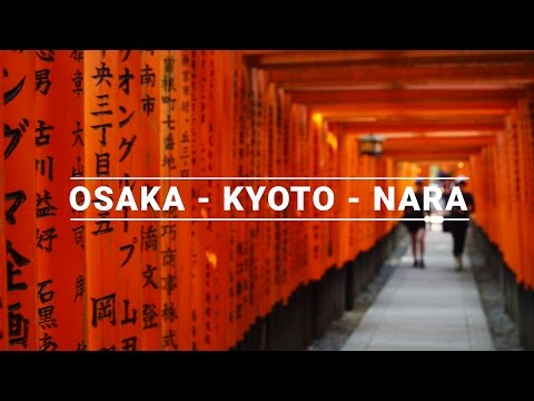 Japan Travel Guide: Osaka 大板 - Kyoto 京都 - Nara 奈良 | The Travel Intern