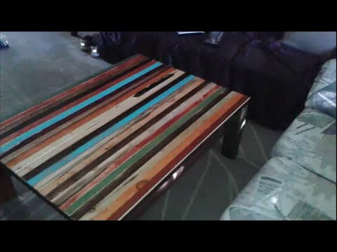 "How To Make Faux ""Reclaimed Lumber"" Furniture by Mark Prior"