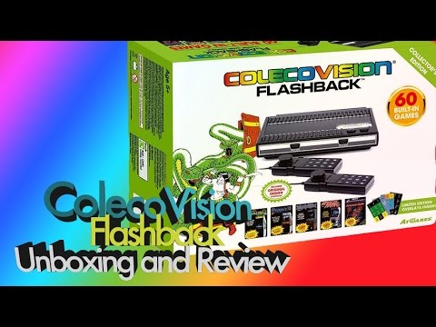 ColecoVision Flashback Console Review and Unboxing