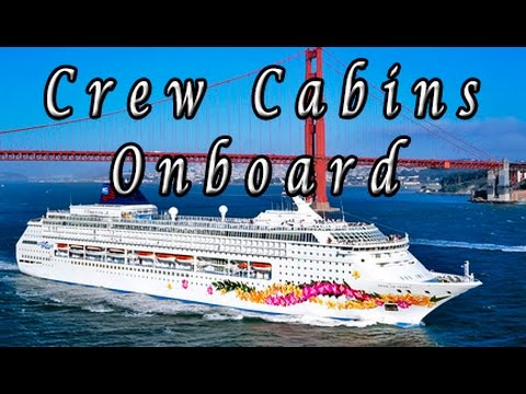 Crewmember Cabin onboard cruise ships Cruise ships crew rooms onboard
