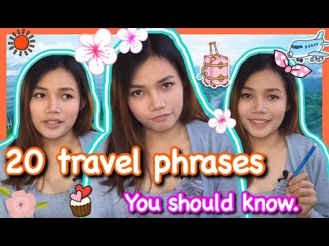 Learn Lao ~ Top 20 Travel Phrases You Should Know.