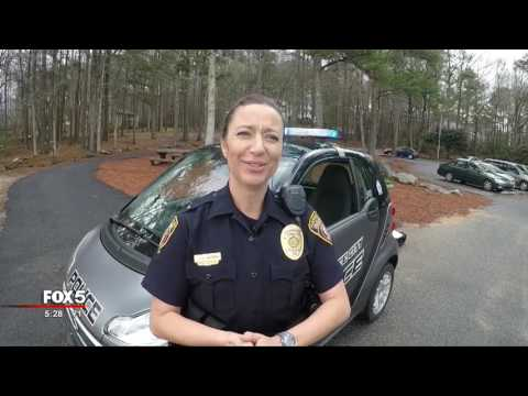 Peachtree City police patrol car