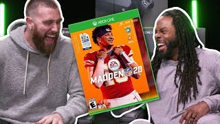 Travis Kelce & Richard Sherman Madden 20 Showdown!