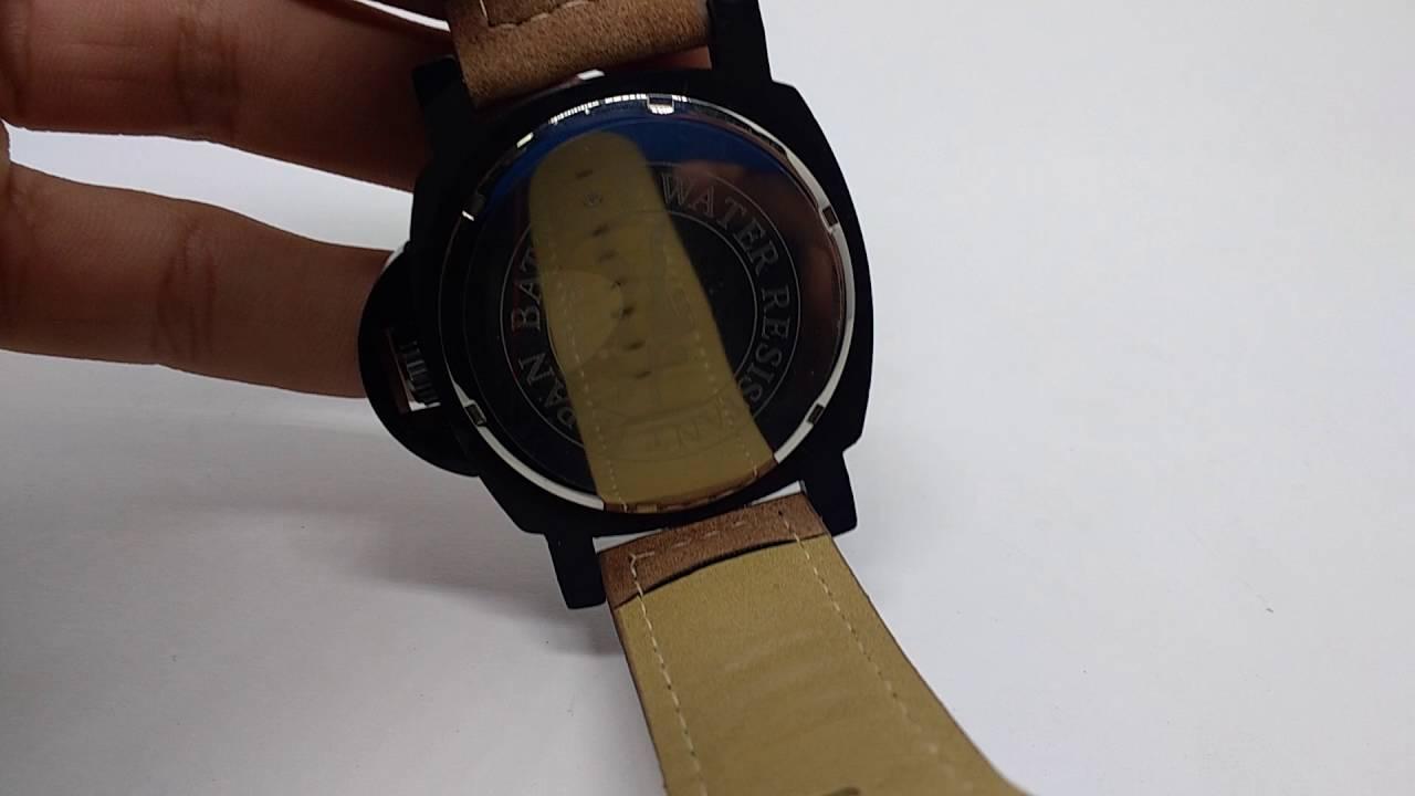 f89b6d025ccd8 Relógio Calvin Klein preto com pulseira de couro - YouTube