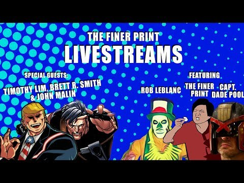 THE FINER PRINT LIVESTREAMS: RETURN OF THE LIM