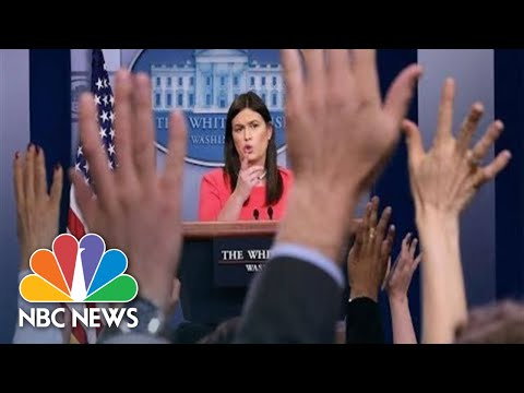 Watch Live: White House Press Briefing | NBC News