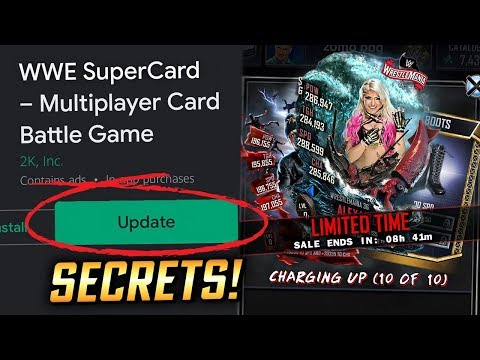 NEW UPDATE SECRETS & BIG CHANGES!! CHARGING UP PACK OPENING!   WWE SuperCard