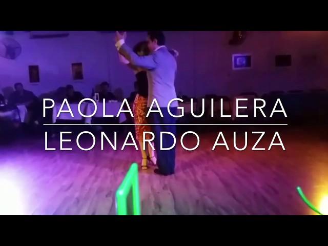Paola Aguilera y Leonardo Auza Tango - Dos Orillas: Soy aquel viajero Di Sarli