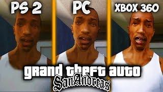 СРАВНЕНИЕ ГРАФИКИ GTA SAN ANDREAS [PC vs XBOX 360 vs PS2]