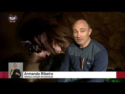 SIC TV - Alviela Cave Diving - Special TV Report