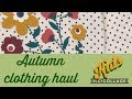 Kids Clothing Haul | AUTUMN 2017 | - BEING RACHEL