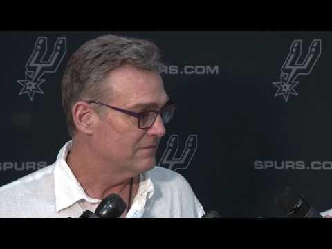 Spurs GM RC Buford Talks Derrick White