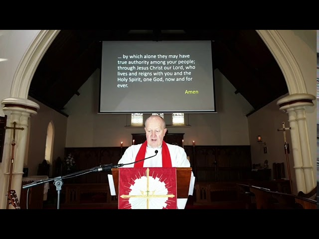 St. James' Anglican Church, Dandenong Feast of St. James service 26 July 2020