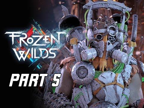 Horizon Zero Dawn The Frozen Wilds Gameplay Walkthrough Part 5 - For the Werak (PS4 Pro DLC)