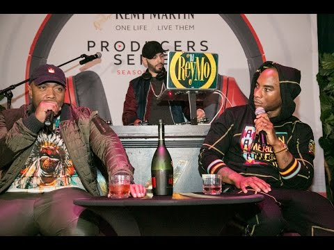 Charlamagne Interviews Timbaland at the Rémy Producers Season 3 West Finale