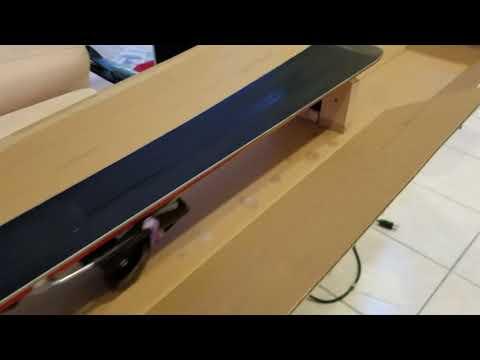 DIY Ski Tuning Bench