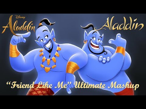 "The Ultimate ""Friend Like Me"" Mashup (Robin Williams and Will Smith Duet)"