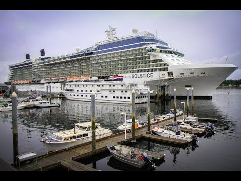 Alaska Cruise 2017 aboard Celebrity Solstice - Day 1 - Port of Seattle