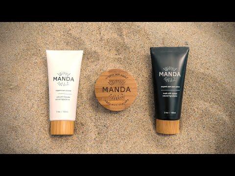 Meet the all-new MANDA Organic Sun Creme and Organic Paw Paw Salve