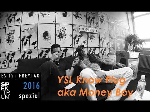 Interview • YSL Know Plug aka Money Boy | Spektrum Festival 2016, Neues Album, GUDG, Choices