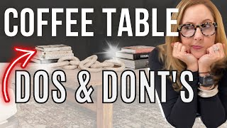 YOUR COFFEE TABLE IS A PROBLEM...Lets' fix it!