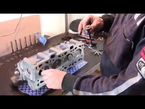 Ошибки при ремонте ГБЦ 2108(1118) Торцуем клапана.Экономим на регулировочных шайбах