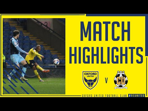 Oxford Utd Cambridge Utd Goals And Highlights