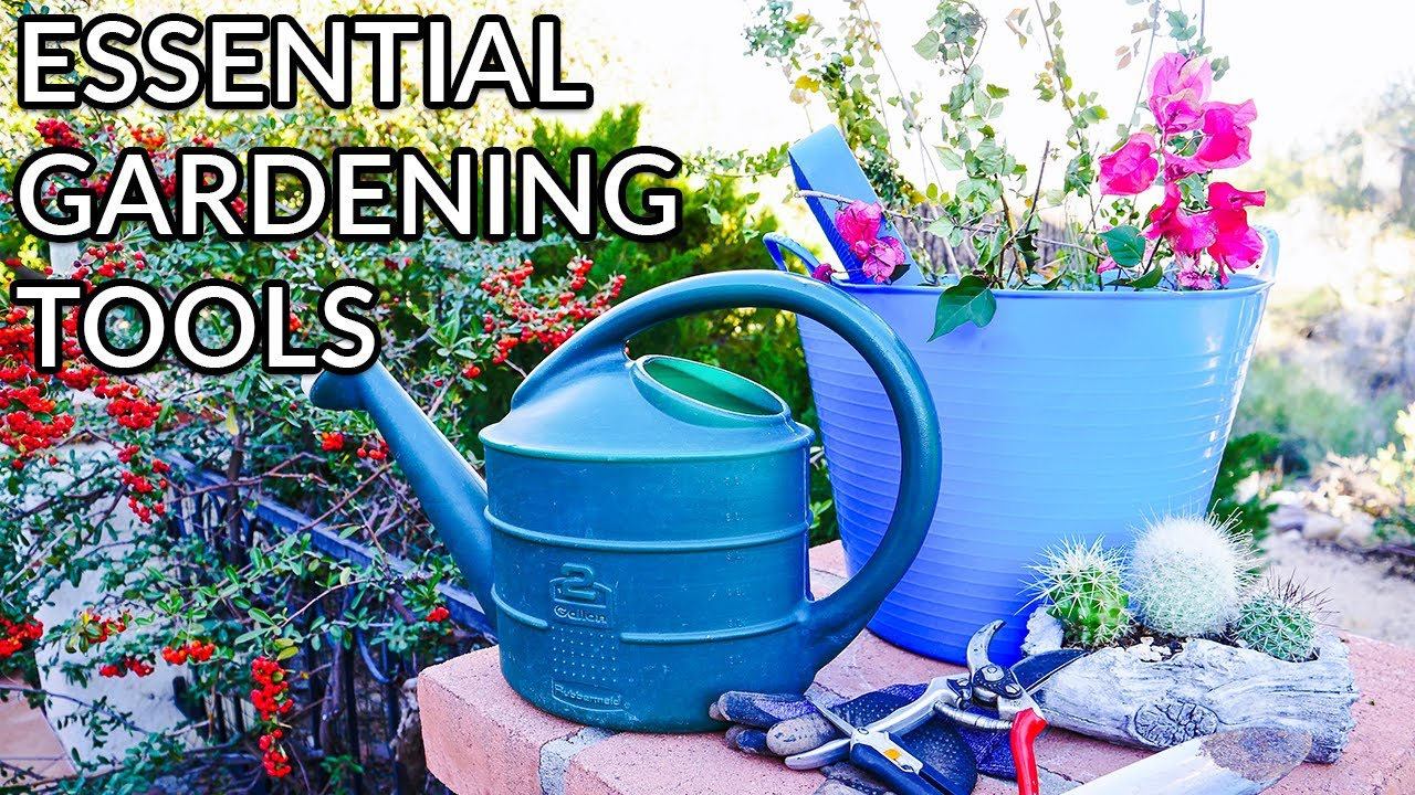 Essential Gardening Tools I Use You Can Buy On Amazon