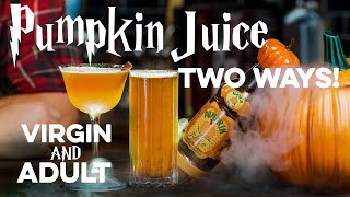 Pumpkin Juice from Harry Potter | How to Drink