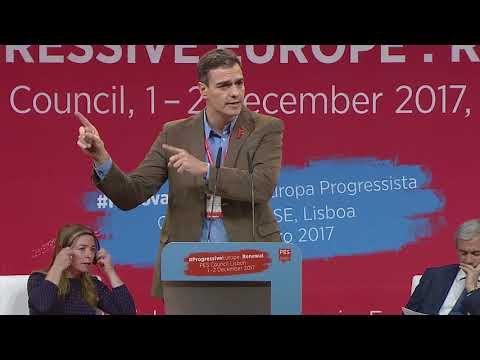 PES Counicil, Lisbon, Day 1, Panel: Enhancing democracy towards 2019