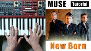 Muse - New Born | Piano Tutorial - Разбор песни | Уроки фортепиано