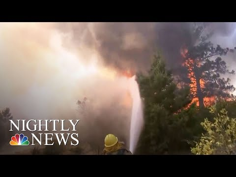 Thumbnail: At Least 41 People Dead In California Wildfires | NBC Nightly News