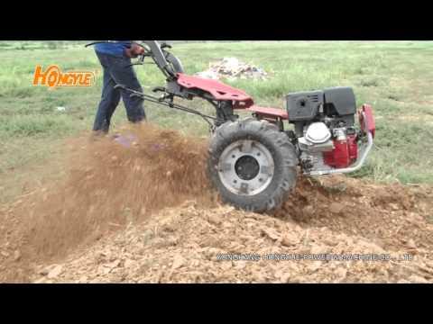 two wheel walking tractor from Yongkang Hongyue Power&Machine Co., Ltd