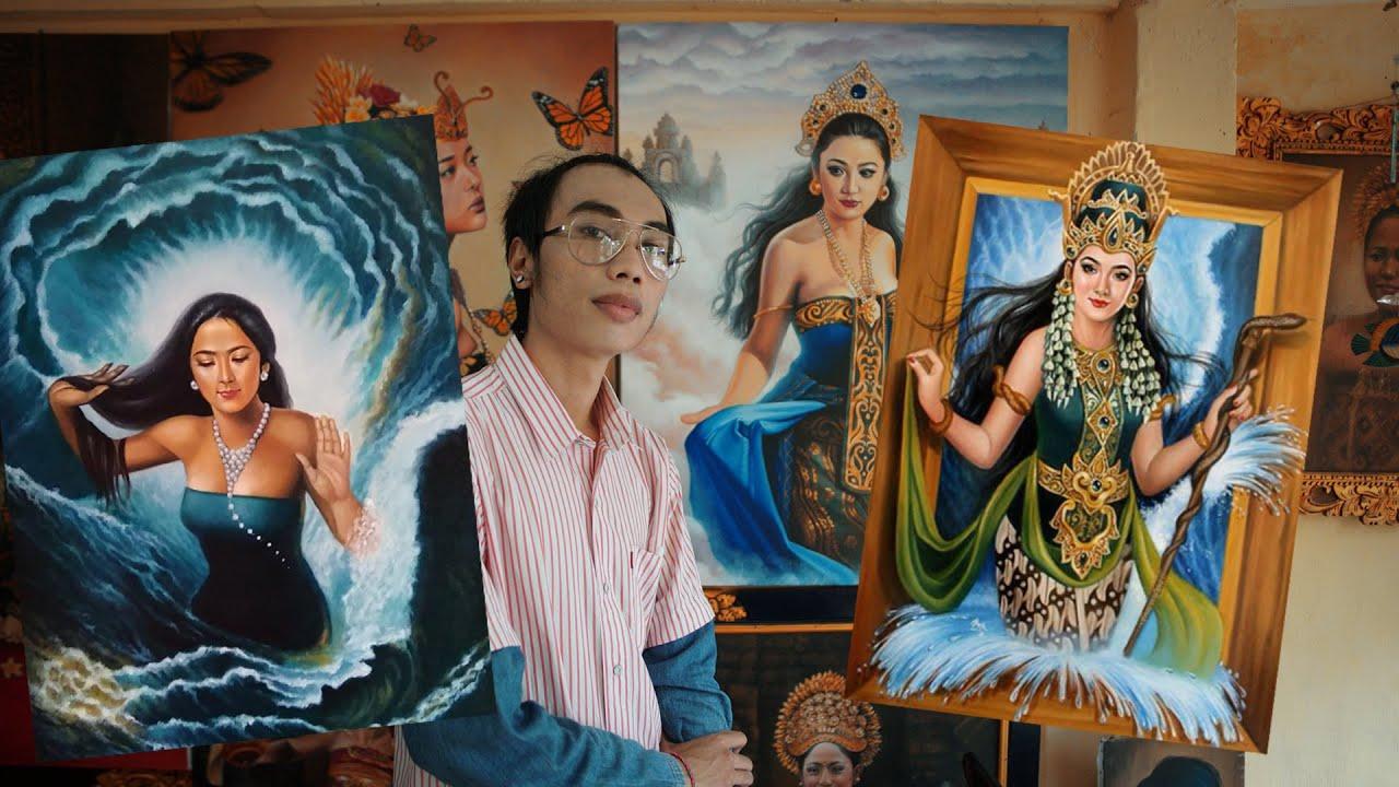 Kisah Pelukis Kanjeng Ratu Kidul Asal Bali Youtube