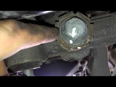 Opel Corsa C 2001 убираем стук в рулевой рейке