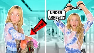 Shopping turned SHOPLIFTING DISASTER! My Mom CRIES! *SHOCKING*