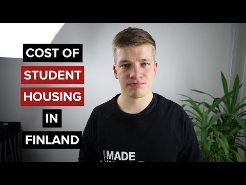 Cost of student housing in Finland