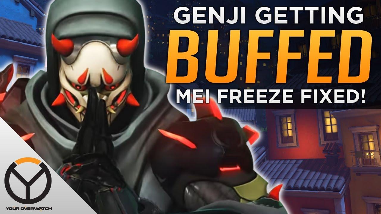 Overwatch mei theme for windows 10 8 7 - Overwatch Genji Buff Coming Mei Freeze Fixed