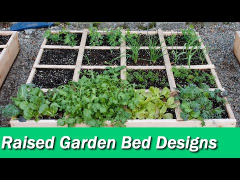46 Cool Raised Garden Bed Designs - Youtube