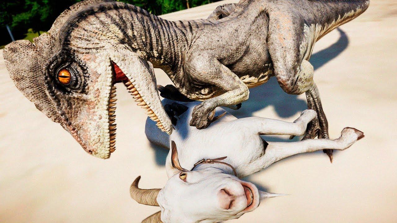 Vale Encantado 3 (DINOSSAURO) #07 | Deinonico Com Fome! DESERTO! | Jurassic World Evolution | PT/BR