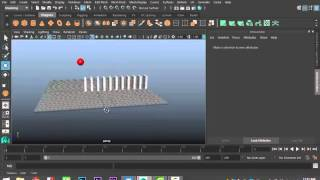 Maya 2016 tutorial : How to create your first animation in Maya