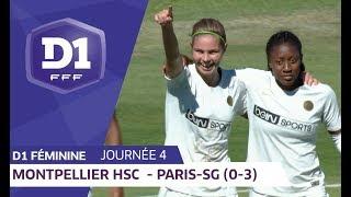 J4 : Montpellier HSC - Paris SG (0-3) / D1 Féminine
