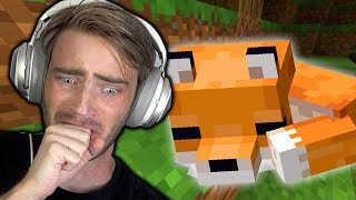 I tame a Fox in Minecraft (very cute)